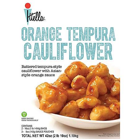 Ittella Orange Tempura Cauliflower (42 oz., 2 pk.)