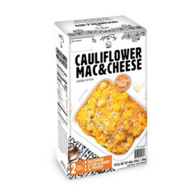 Tattooed Chef Cauliflower Mac and Cheese, Frozen (2 pk.)