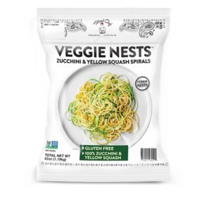 Tattooed Chef Vegetable Spiral Nests, Frozen (42 oz.)