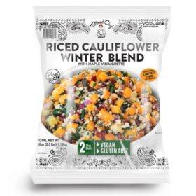 Tattooed Chef Riced Cauliflower Winter Blend, Frozen (40 oz.)
