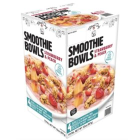 Tattooed Chef Strawberry & Peach Smoothie Bowl, Frozen (4 pk.)