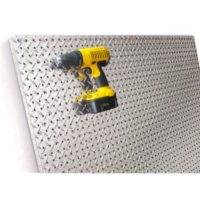 PegBoard X2 - 4' x 4' Diamond Plate Panel
