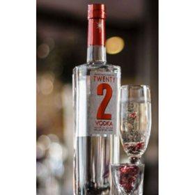 Twenty 2 Vodka (750 ml)