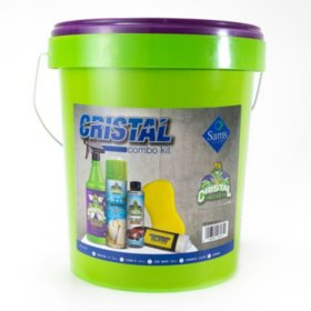Cristal 6-Piece Car Care Bucket