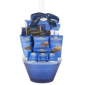 Ghirardelli Elegance Gift Basket (Various Colors)