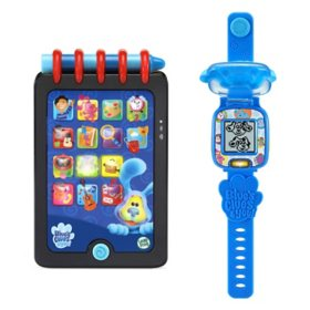 LeapFrog Blue's Clues & You! Really Smart Handy Dandy Notebook & Learning Watch - Blue or Magenta