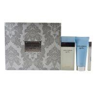 Deals on Dolce & Gabbana Light Blue for Women 3-Piece Gift Set