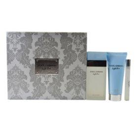 Dolce & Gabbana Light Blue for Women 3-Piece Gift Set
