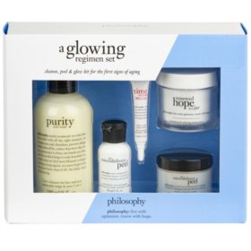Philosophy Glowing Regimen Loyalty Set
