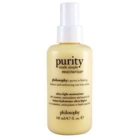 Philosophy Purity Made Simple Ultra-Light Moisturizer (4.7 oz.)
