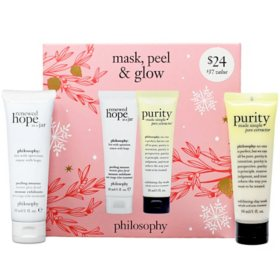 Philosophy Mask, Peel & Glow Set (2 pc.)