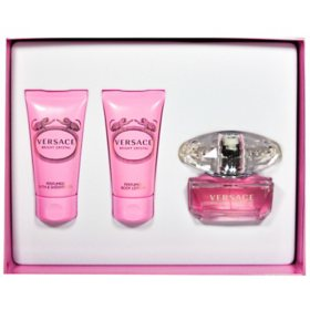Bright Crystal 3 Piece Gift Set for Women by Versace