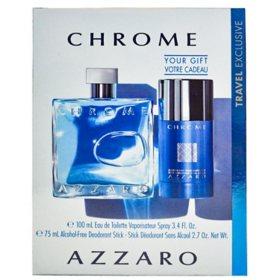 Azzaro Chrome 2 Piece Gift Set for Men by Azzaro