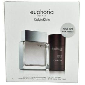 Euphoria 2 Piece Gift Set for Men by Calvin Klein