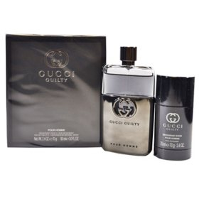 Guilty Pour Homme 2 Piece Gift Set for Men by Gucci