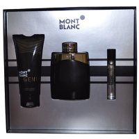 Mont Blanc Legend 3 Piece Gift Set for Men by Mont Blanc