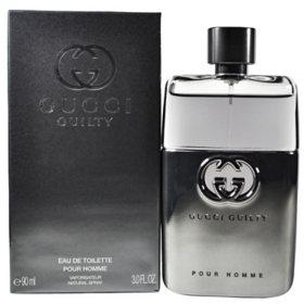 Guilty Pour Homme for Men By Gucci 3.0 oz Eau de Toilette