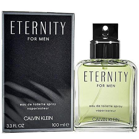 Eternity for Men by Calvin Klein 3.4 oz Eau de Toilette