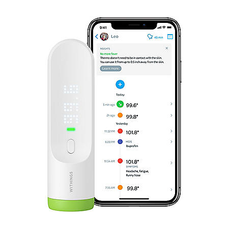 Withings Smart Temporal Thermometer