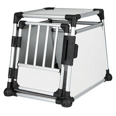 "Trixie Scratch-Resistant Metallic Crate, Medium (21.5"" x 30.5"" x 24.25"")"