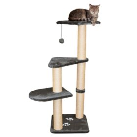 "Trixie Altea Cat Tree, Gray (15.5"" x 15.5"" x 46"")"