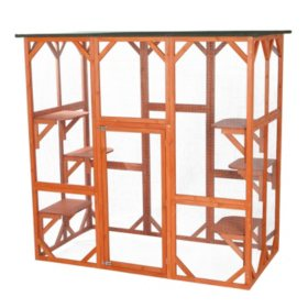 "Trixie Wooden Outdoor Cat Sanctuary (70¾"" x 38½"" x 70¾"")"