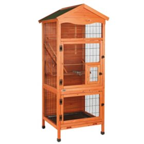 "Trixie Aviary Extra Large Wooden Bird House (30.5"" x 30.5"" x 70.75"")"