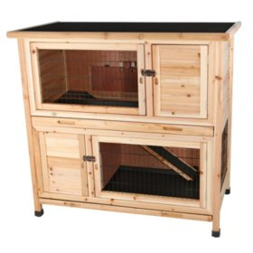 Trixie 2-Story Rabbit Hutch - Medium (Choose Your Color)
