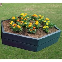 Deals on Graf Modular 10-inch H Hexagon Raised Garden Bed 645100