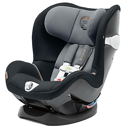 Cybex Sirona M Convertible Car Seat with SensorSafe 2.0, Pepper Black