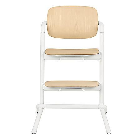 Cybex Lemo High Chair System, Wood - White Porcelain