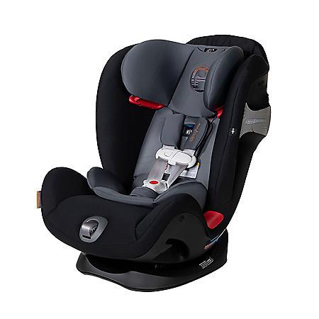Cybex Eternis S All-in-One Car Seat, Pepper Black
