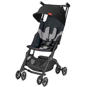 gb Pockit+ All-Terrain Stroller (Choose from Velvet Black or Night Blue)