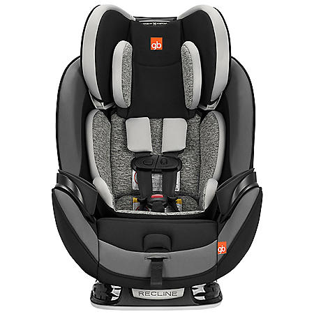 gb Asenti-Fix 3-in-1 Convertible Car Seat (Charcoal Gray or Midnight Black)