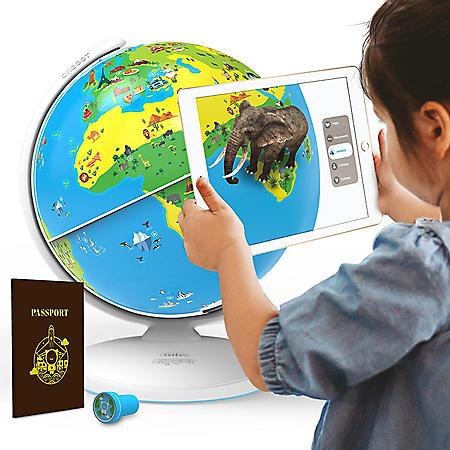 Orboot Earth by PlayShifu Interactive AR Globe, Ages 4-10 (App Based)