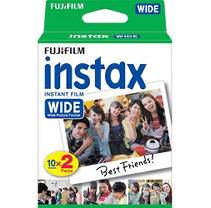 Fujifilm 20 Exposures Instax Wide Instant Film