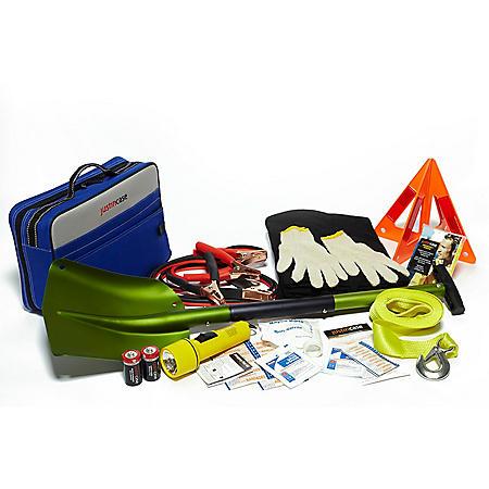 Justin Case Winterizer Auto Safety Kit with Aluminum Shovel
