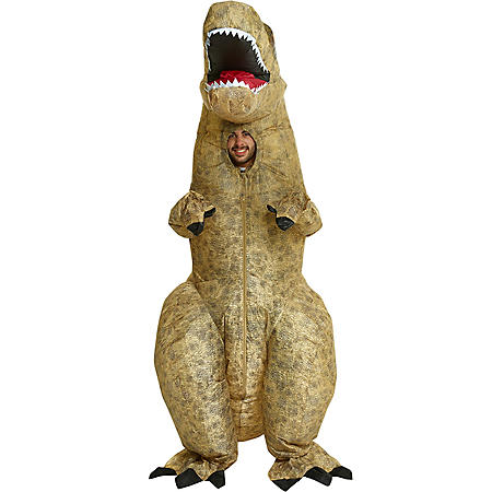 820515a1842e0 Adult Inflatable 5-Style Costume Assortment: T-Rex, Gorilla, Cow ...