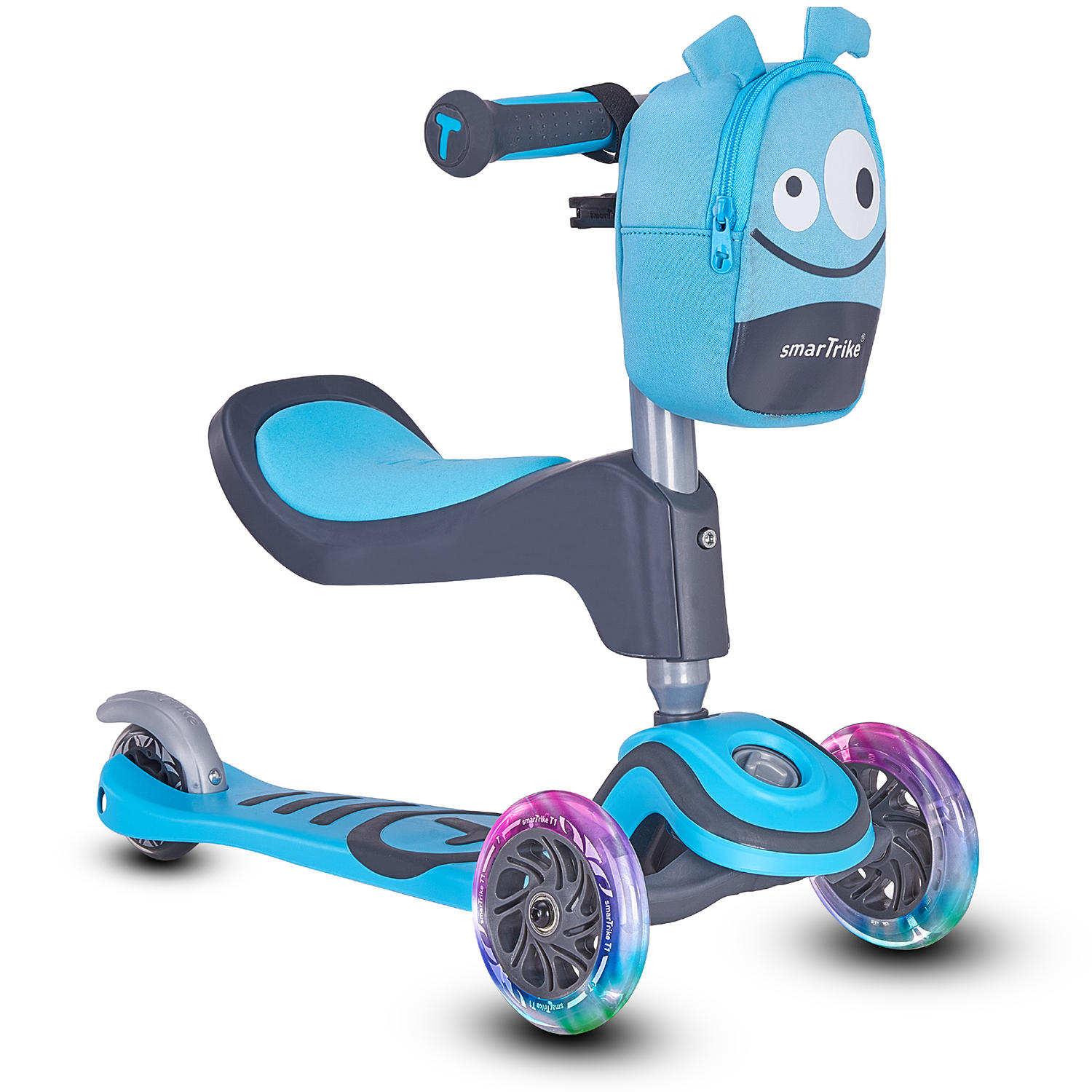 SmarTrike T1 Toddler T Scooter 3-in-1
