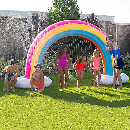 Magical Rainbow Sprinkler