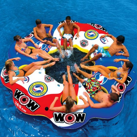 WOW Tube-A-Rama Water Sport Island