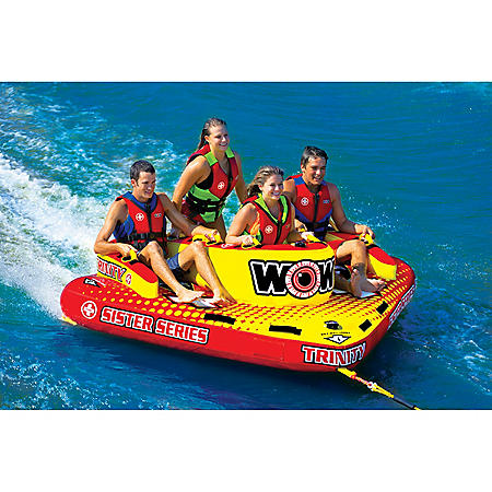 WOW, Trinity Sister Series Face-to-Face S-Shaped Towable, 1 to 4