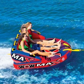 Max 3-Person Towable