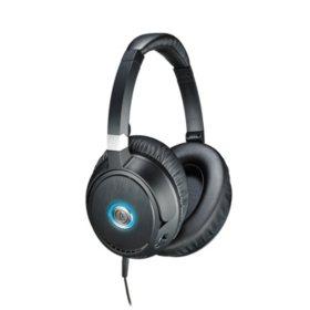 Audio-Technica QuietPoint Active Noise-Cancelling Headphones - Black/Blue