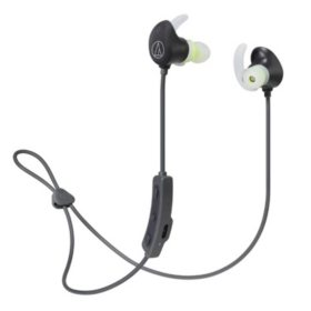 Audio-Technica SonicSport Wireless In-Ear Headphones, Black