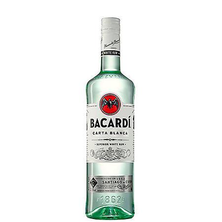 Bacardi Carta Blanca White Rum (1 L)