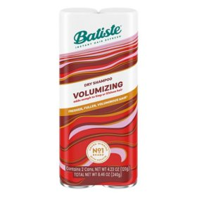 Batiste Instant Hair Refresh Volumizing Dry Shampoo (2 pk.)