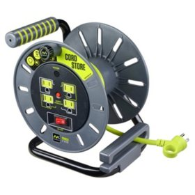 Masterplug Cord Storage Reel with 3-Ft. Lead