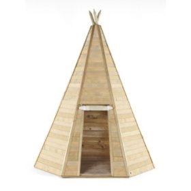 Plum Grand Wooden Teepee