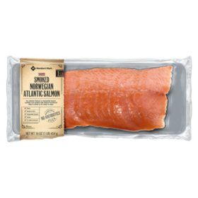 Member's Mark Smoked Norwegian Atlantic Salmon (1 lb.)